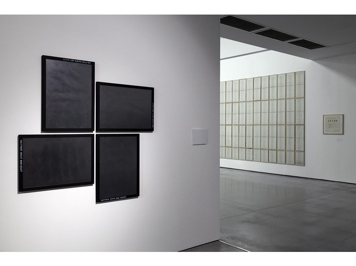 //Sensations of Reality and Conceptual Practices 1965–1980// exhibition, photo: Rafał Sosin