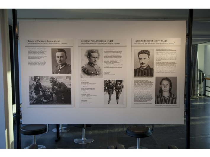//Zofia Posmysz: Auschwitz and Literature// exhibition, Musiktheater im Revier in Gelsenkirchen, photo: A. Uryniak